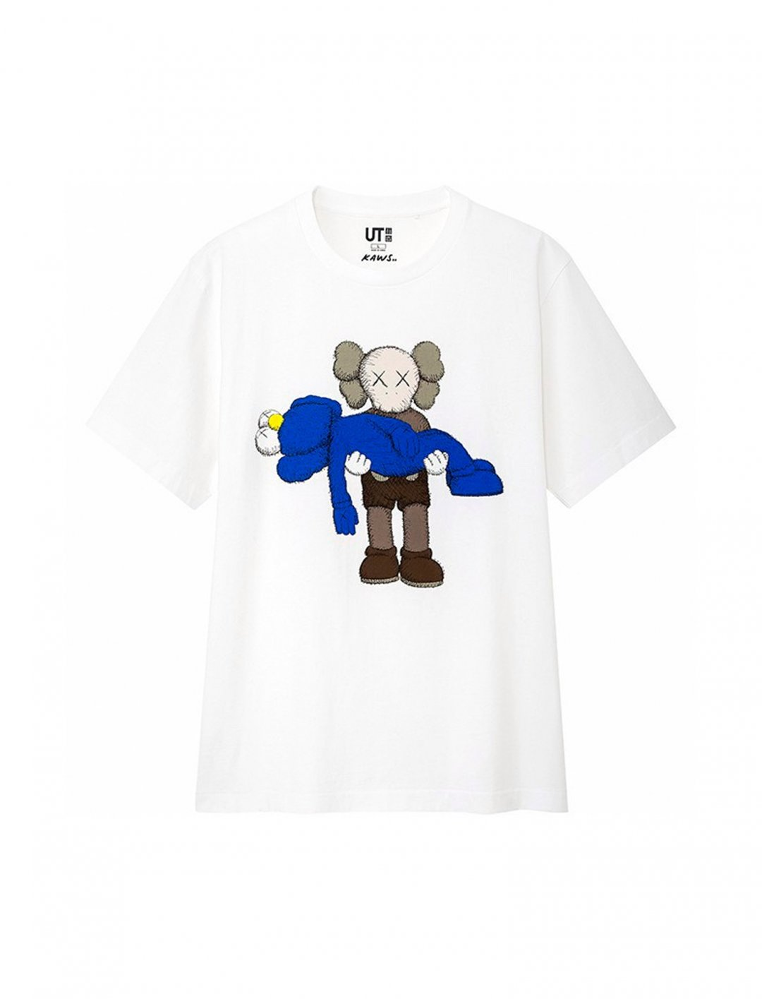 "Kaws Graphic T-shirt {""id"":5,""product_section_id"":1,""name"":""Clothing"",""order"":5} Kaws x Uniqlo"
