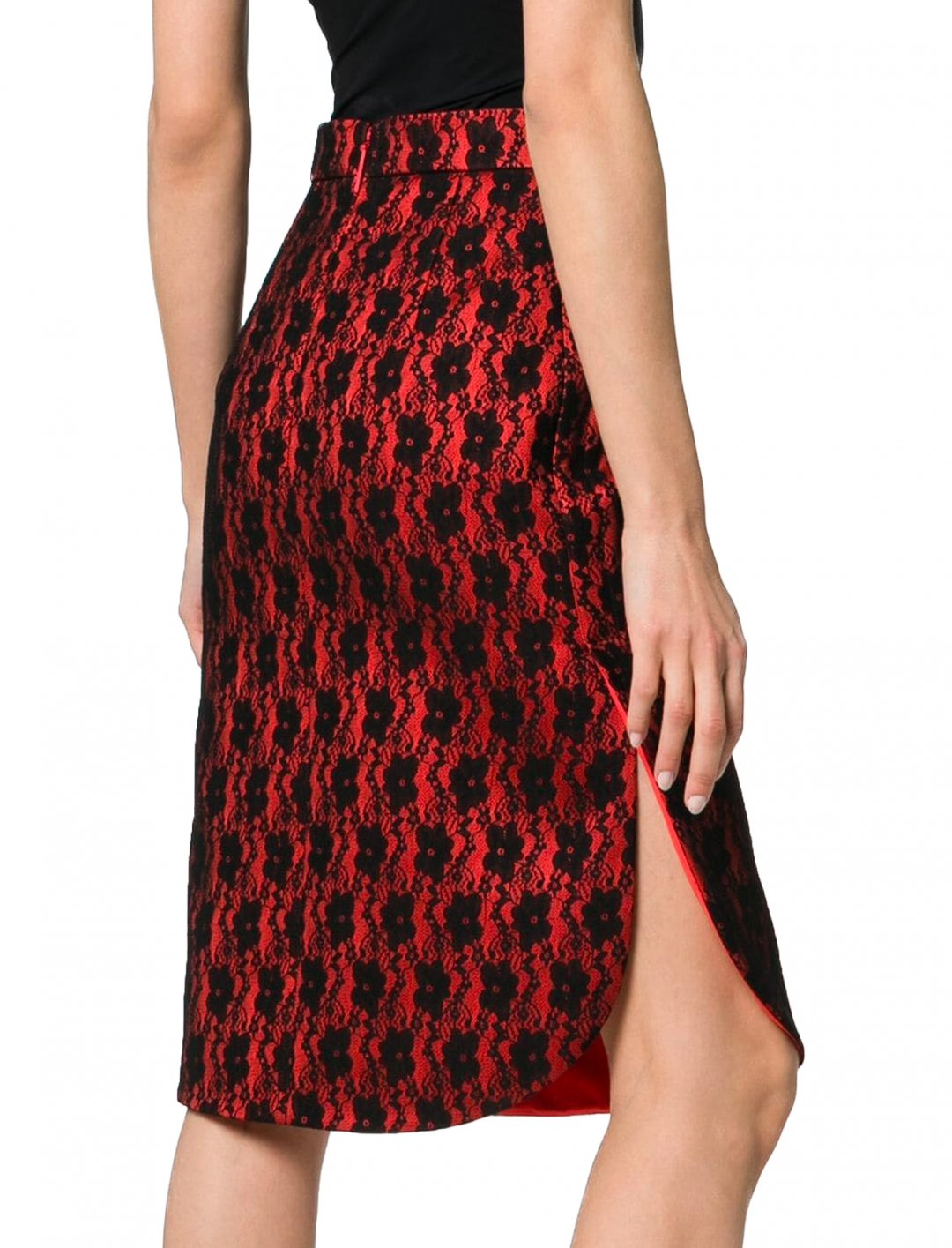 "Lace Bonded Skirt {""id"":5,""product_section_id"":1,""name"":""Clothing"",""order"":5} Christopher Kane"