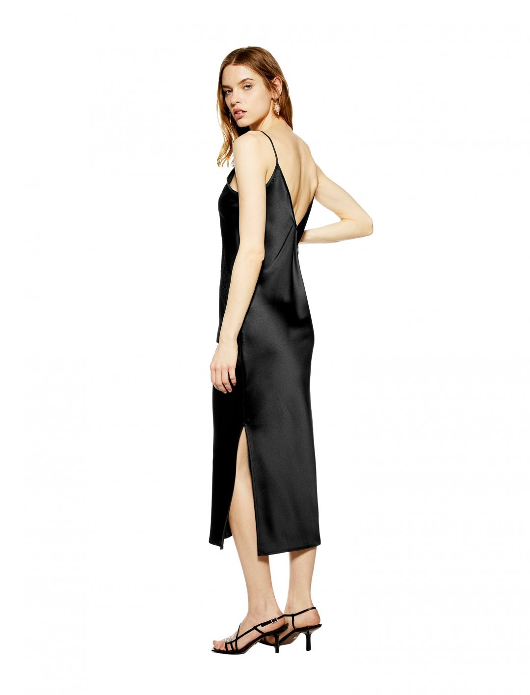 "Lace Satin Slip Dress {""id"":5,""product_section_id"":1,""name"":""Clothing"",""order"":5} Topshop"