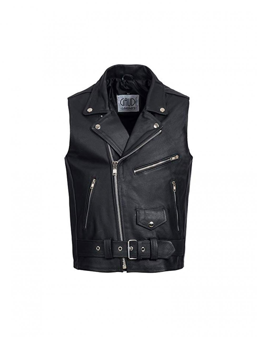 "Leather Vest {""id"":5,""product_section_id"":1,""name"":""Clothing"",""order"":5} Gaudi-Leathers"