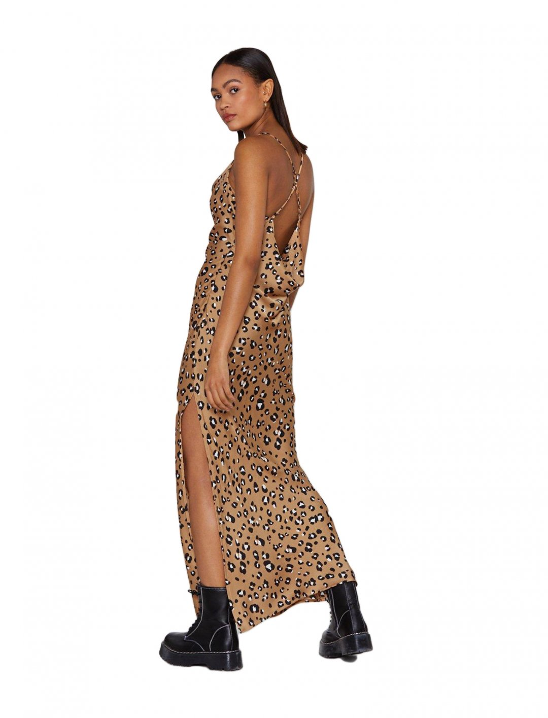 "Leopard Print Dress {""id"":5,""product_section_id"":1,""name"":""Clothing"",""order"":5} Nasty Gal"