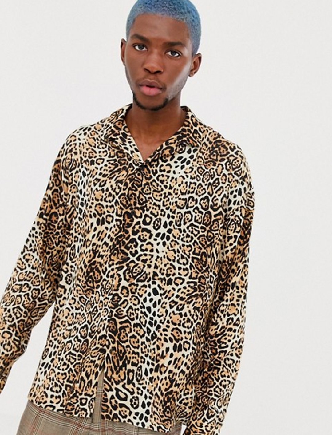"Leopard Print Shirt {""id"":5,""product_section_id"":1,""name"":""Clothing"",""order"":5} COLLUSION"
