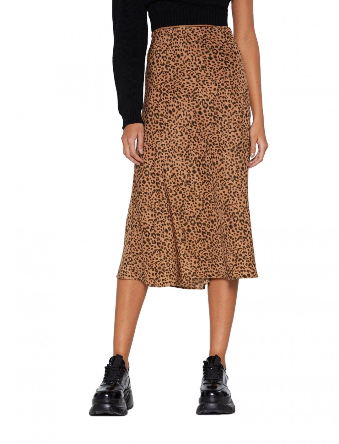 """Leopard Print Silk Skirt {""""id"""":5,""""product_section_id"""":1,""""name"""":""""Clothing"""",""""order"""":5} Nasty Gal"""