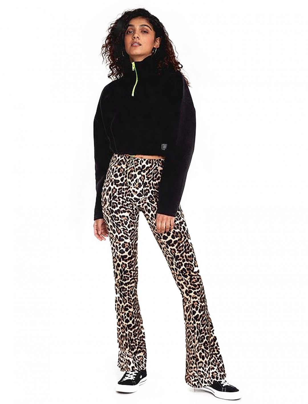 "Leopard Print Trousers {""id"":5,""product_section_id"":1,""name"":""Clothing"",""order"":5} Urban Renewal"