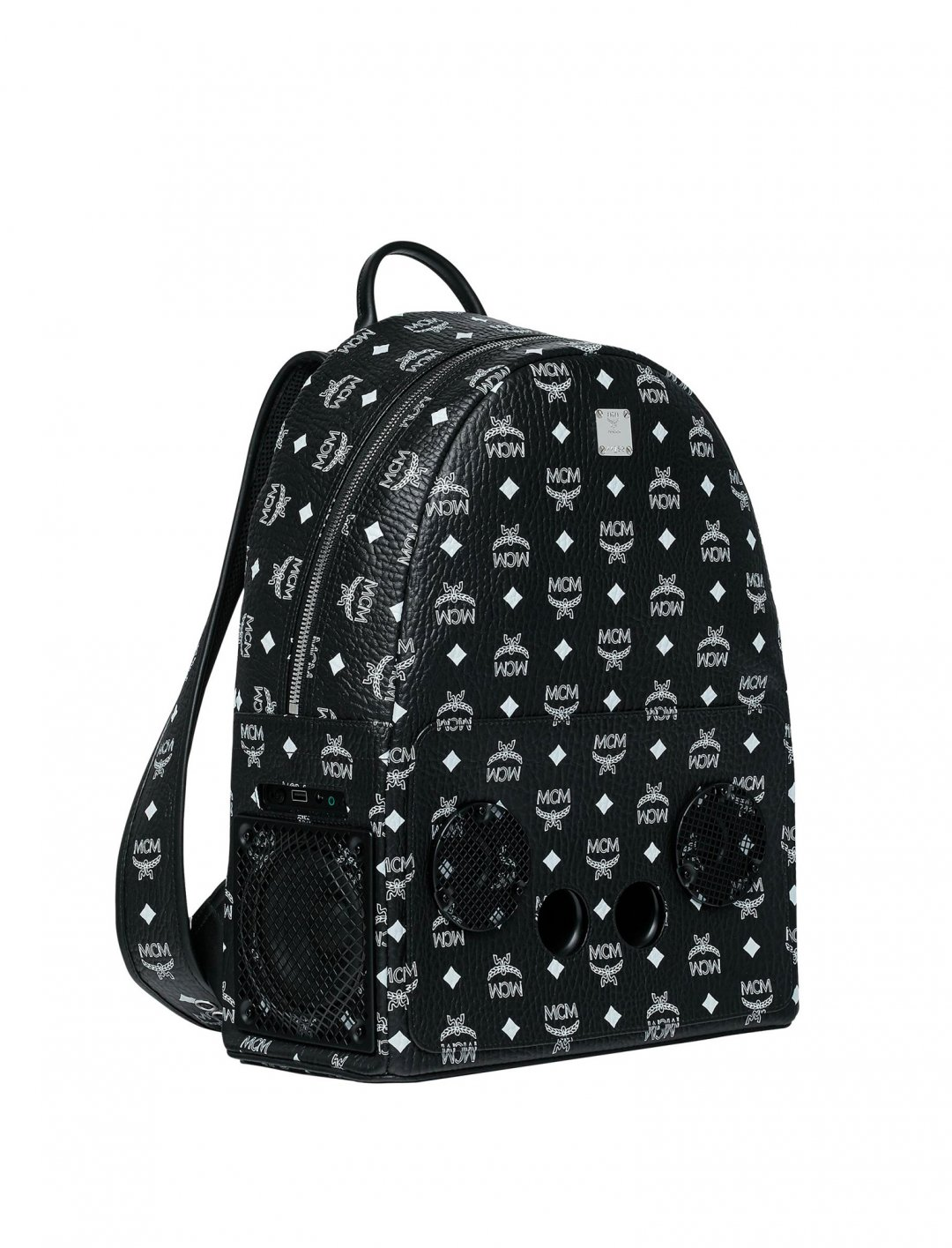 "Logo Backpack {""id"":1,""product_section_id"":1,""name"":""Bags"",""order"":1} MCM x WizPak"