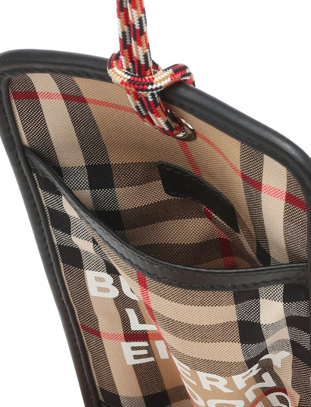 """Logo Canvas Cardholder {""""id"""":16,""""product_section_id"""":1,""""name"""":""""Accessories"""",""""order"""":15} Burberry"""