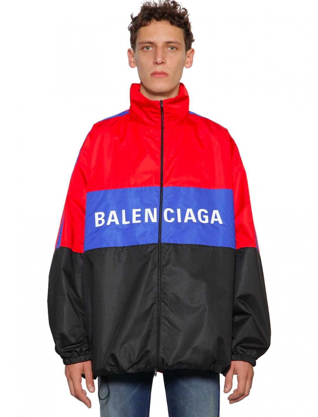 "Logo Jacket {""id"":5,""product_section_id"":1,""name"":""Clothing"",""order"":5} Balenciaga"