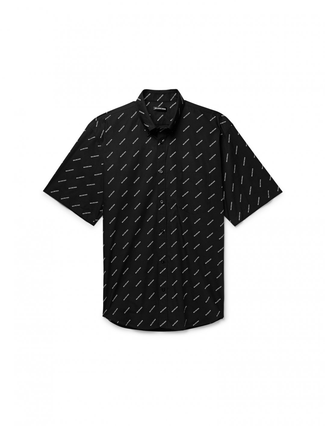 "Logo Print Shirt {""id"":5,""product_section_id"":1,""name"":""Clothing"",""order"":5} Balencoaga"