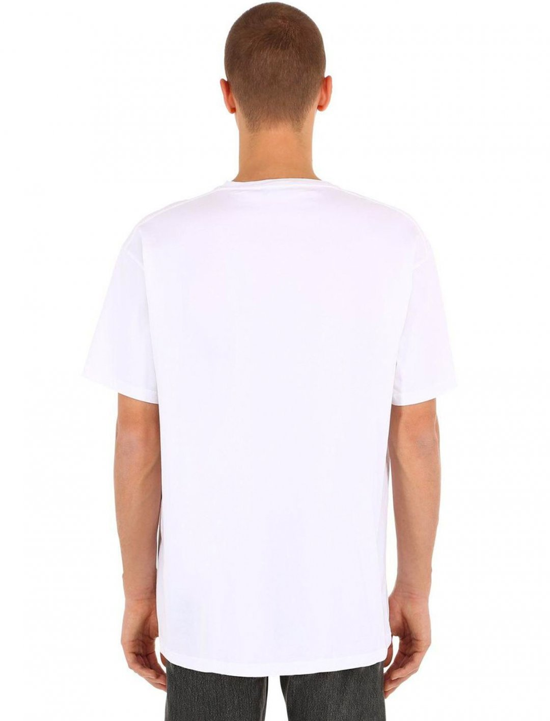 "Logo T-shirt {""id"":5,""product_section_id"":1,""name"":""Clothing"",""order"":5} Balenciaga"