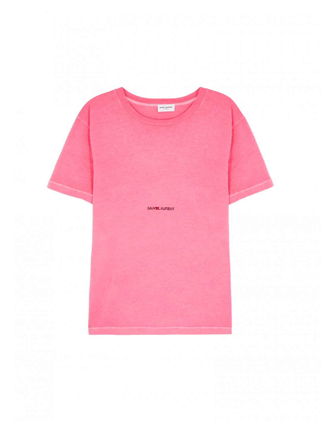 "Logo T-Shirt {""id"":5,""product_section_id"":1,""name"":""Clothing"",""order"":5} Saint Laurent"