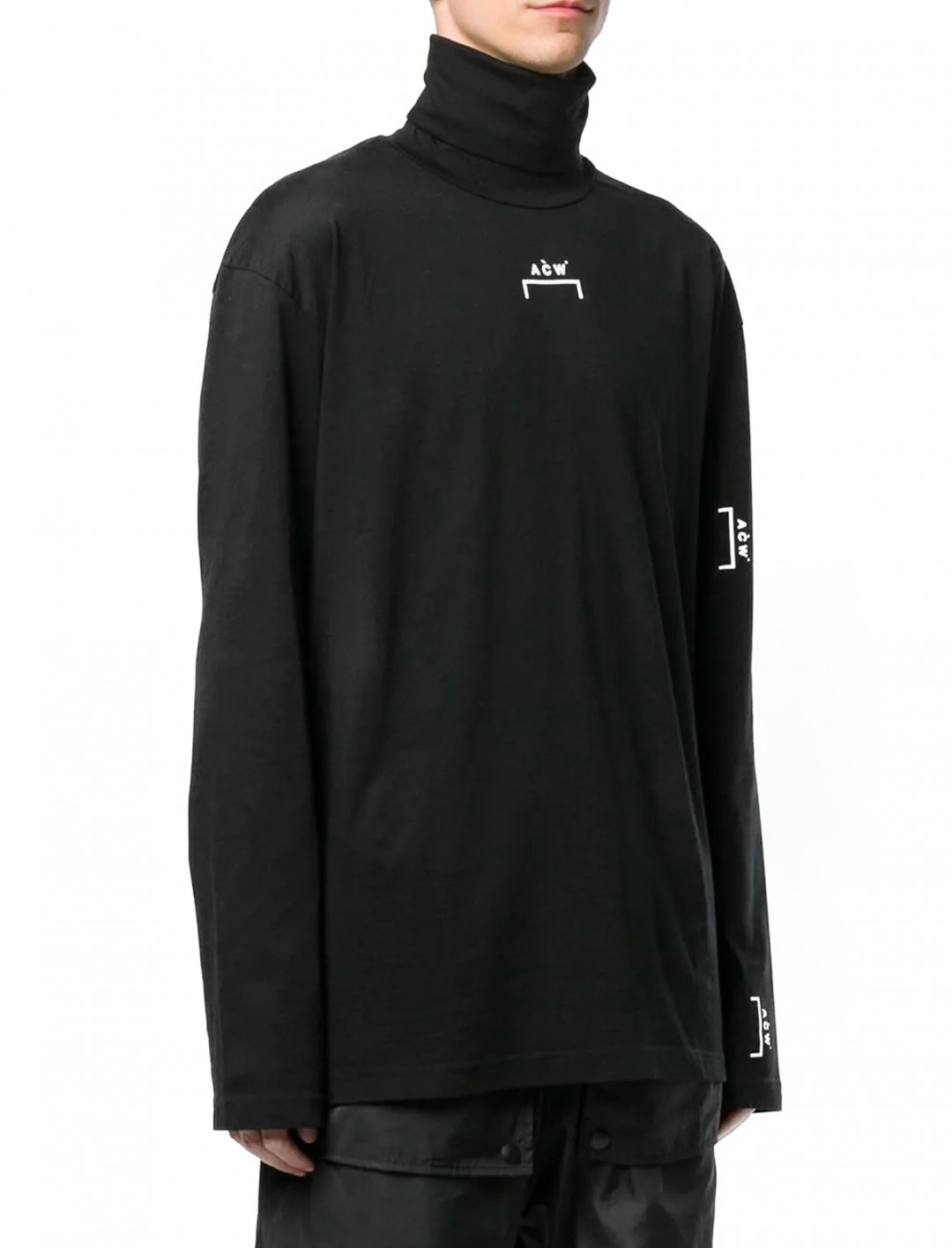 "Logo Turtleneck Top {""id"":5,""product_section_id"":1,""name"":""Clothing"",""order"":5} A-Cold-Wall"