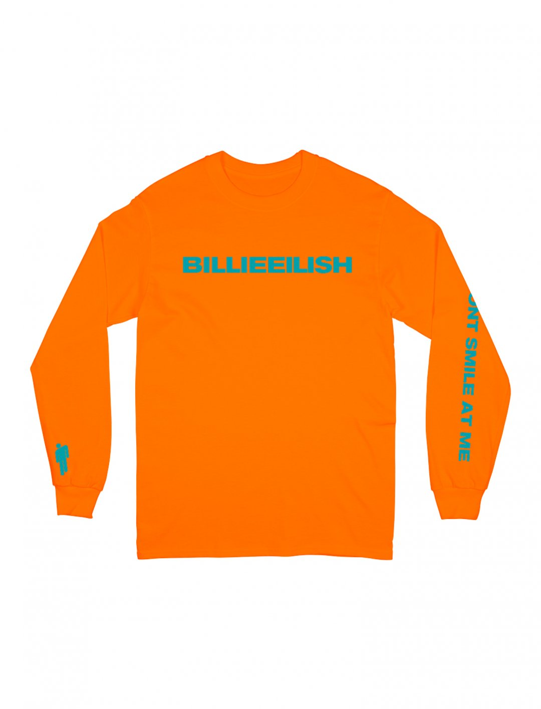 "Long Sleeve Shirt {""id"":5,""product_section_id"":1,""name"":""Clothing"",""order"":5} Billie Eilish"
