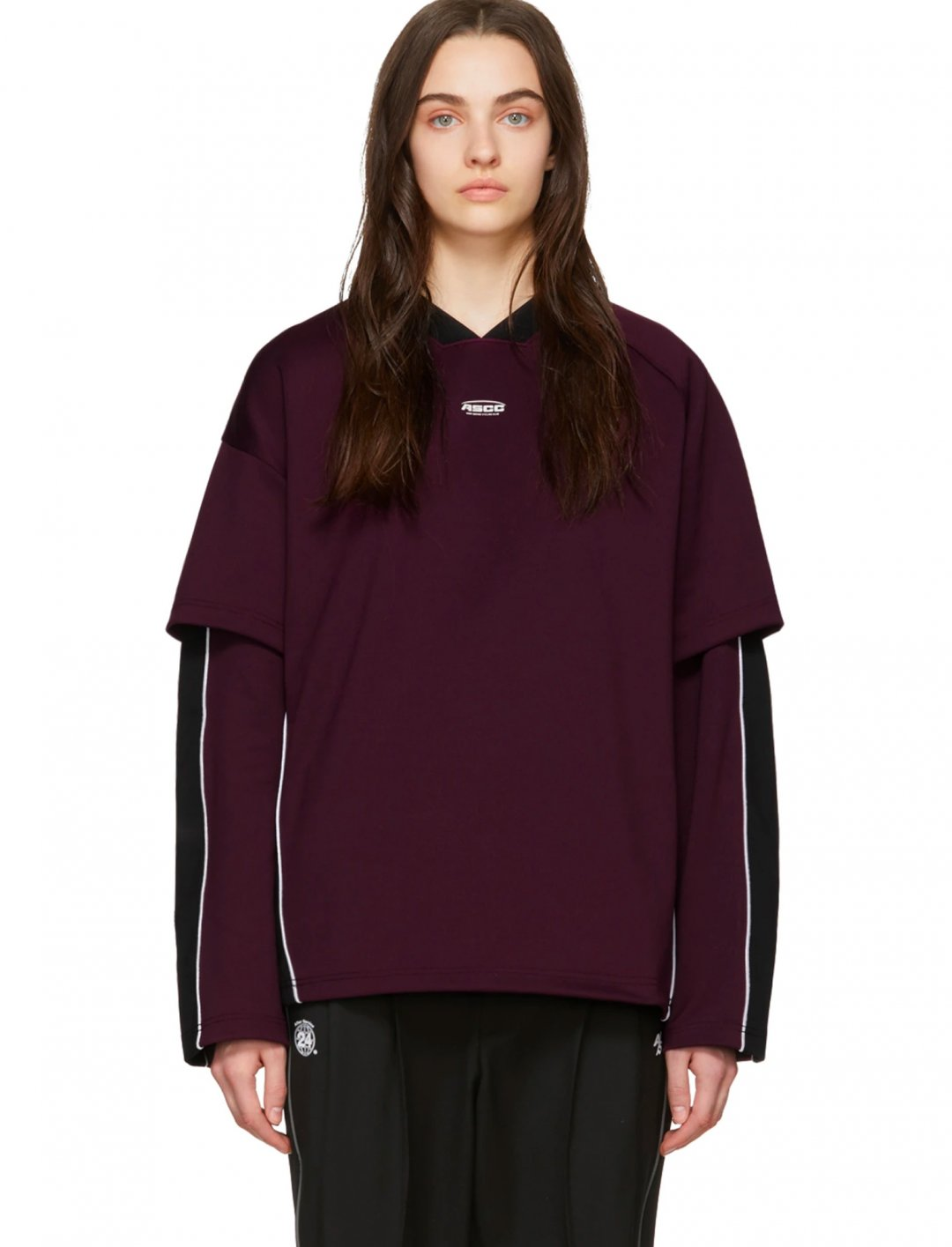 "Long Sleeve T-shirt {""id"":5,""product_section_id"":1,""name"":""Clothing"",""order"":5} ADDER error x SSENSE"