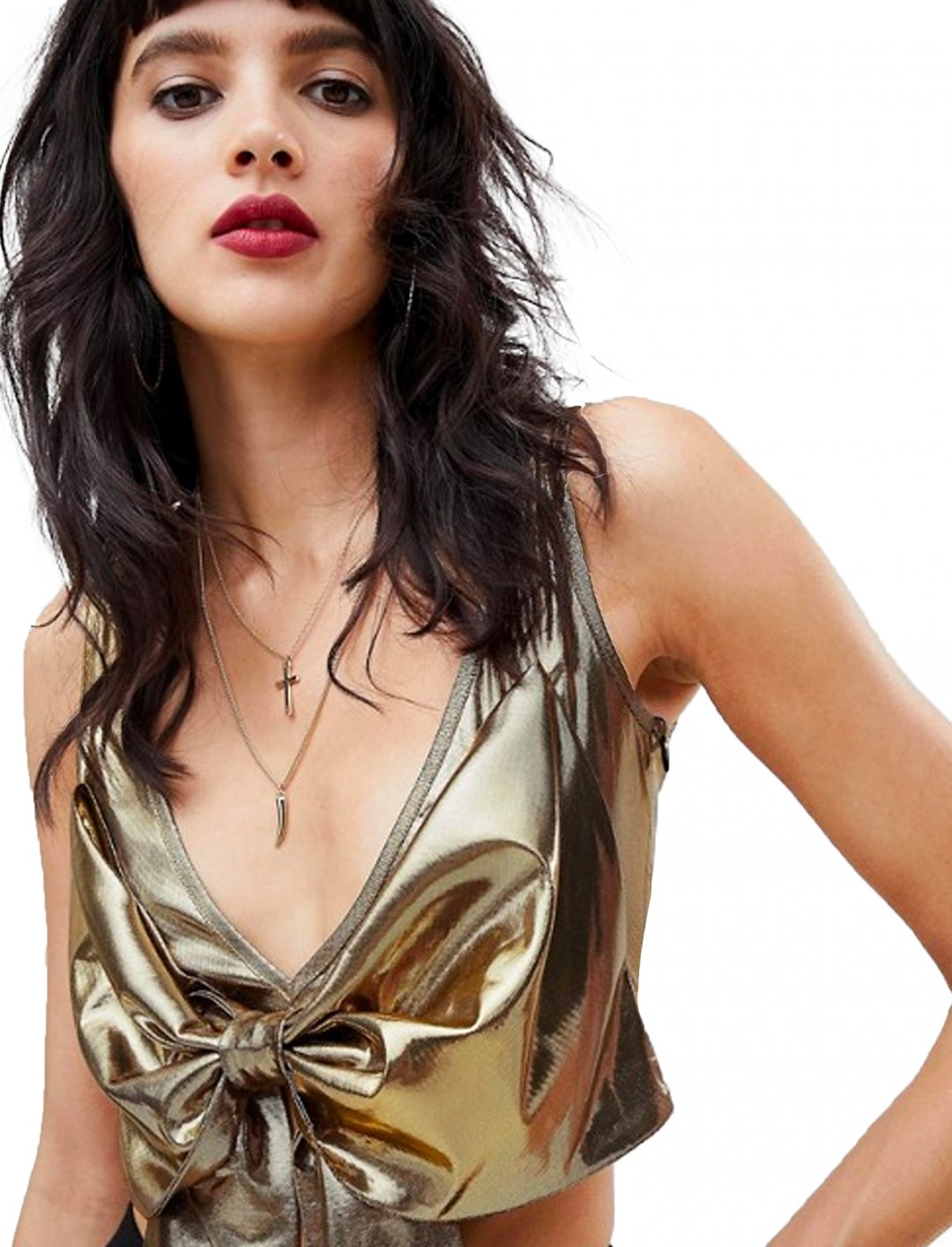 "Metallic Top {""id"":5,""product_section_id"":1,""name"":""Clothing"",""order"":5} Dusty Daze"