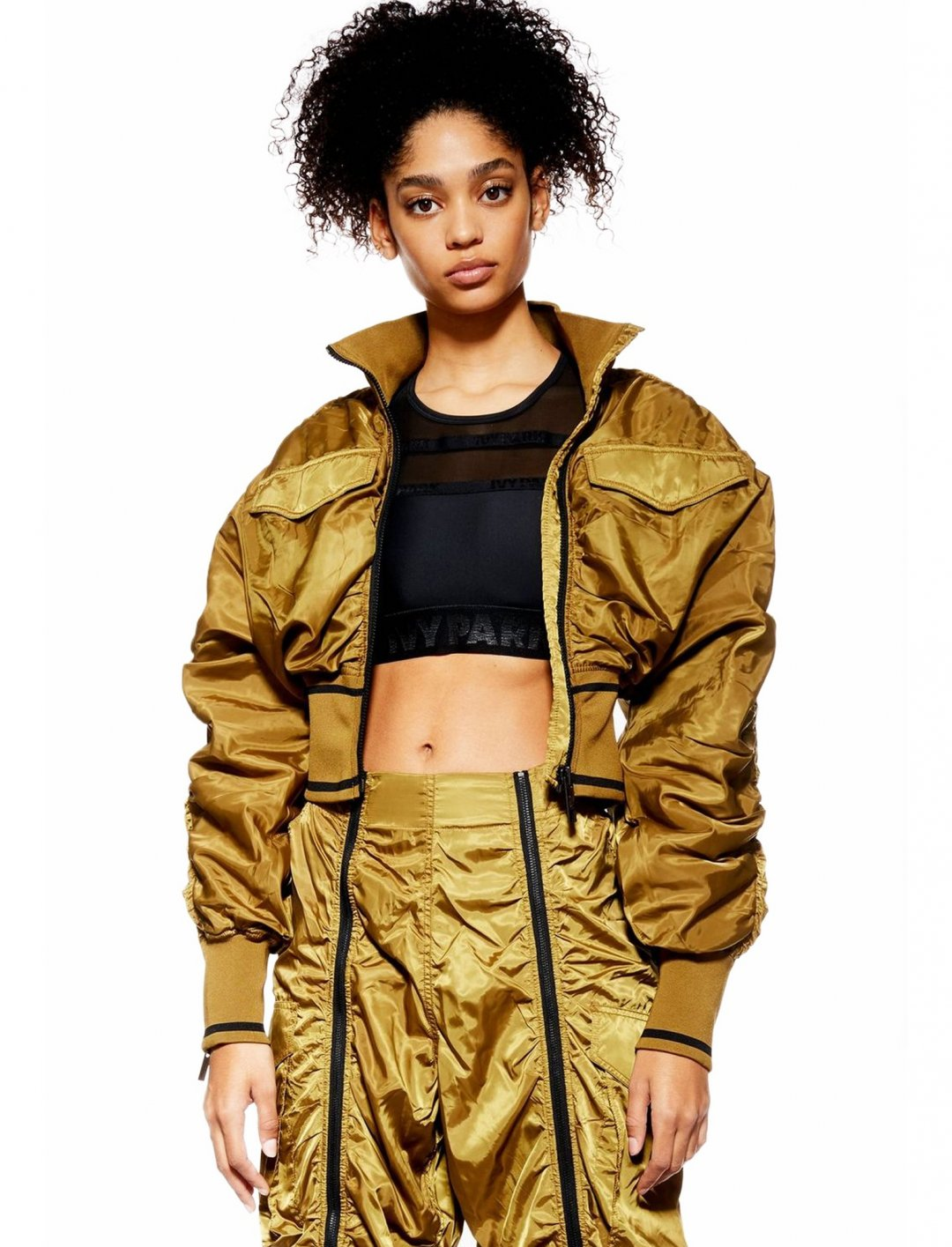 "Military Bomber Jacket {""id"":5,""product_section_id"":1,""name"":""Clothing"",""order"":5} Ivy Park"