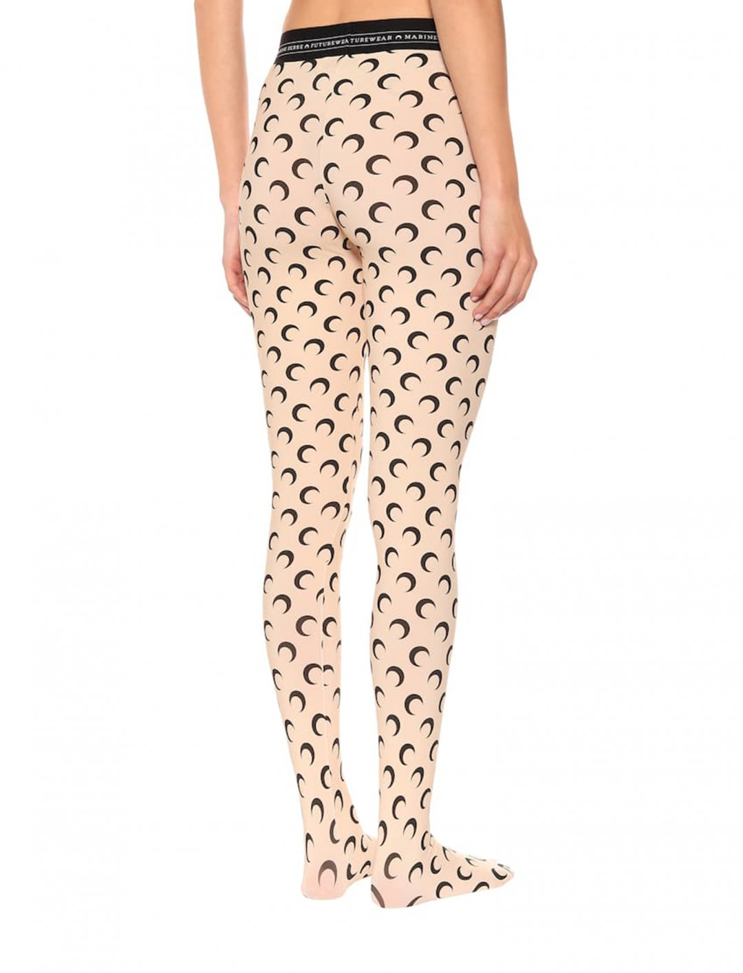 "Moon Print Tights {""id"":5,""product_section_id"":1,""name"":""Clothing"",""order"":5} Marine Serre"