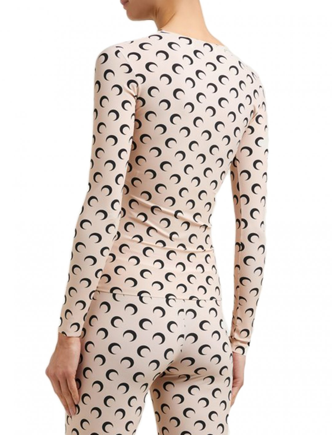 "Moon Print Top {""id"":5,""product_section_id"":1,""name"":""Clothing"",""order"":5} Marine Serre"
