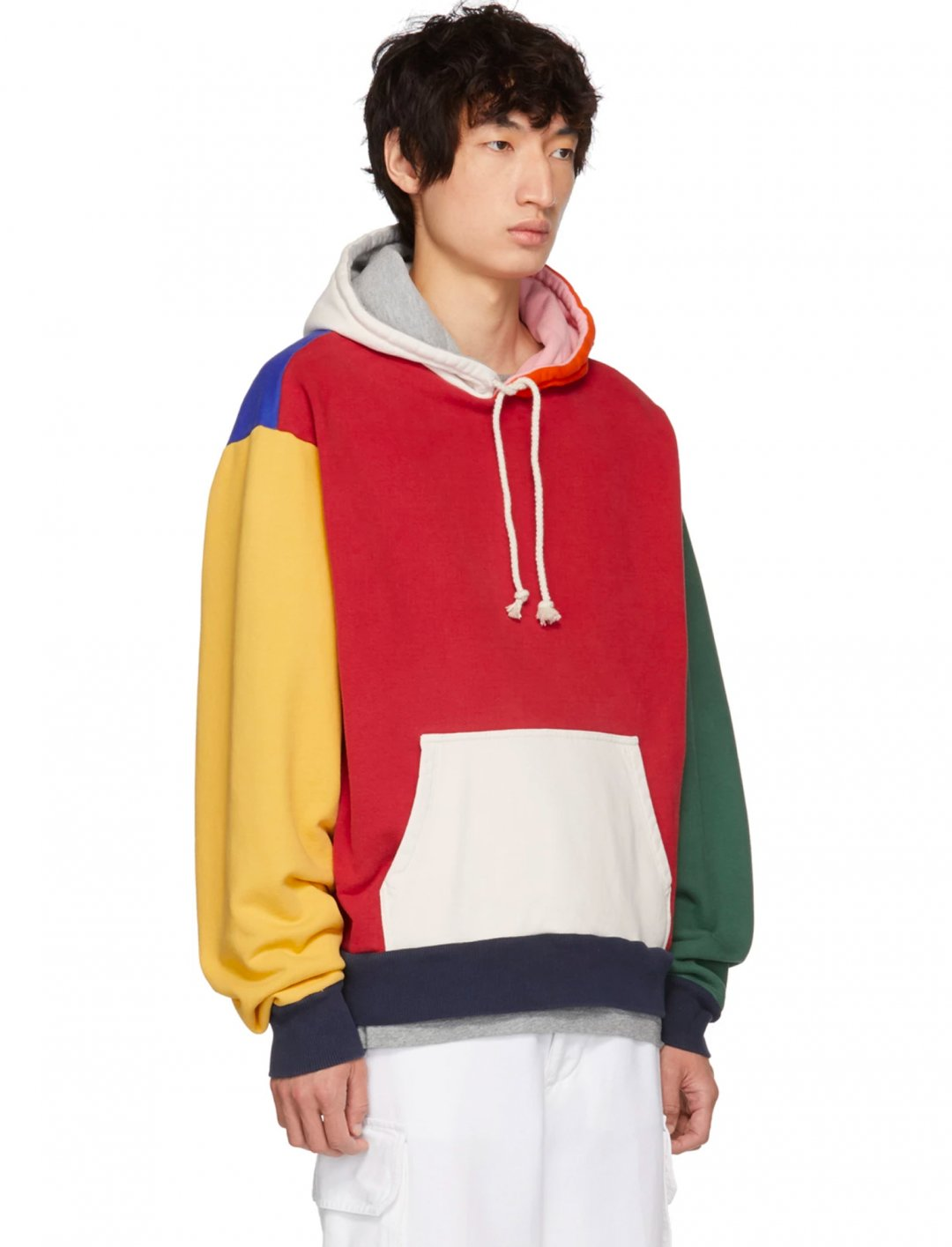 "Multicolor Colorblocked Hoodie {""id"":5,""product_section_id"":1,""name"":""Clothing"",""order"":5} 424"