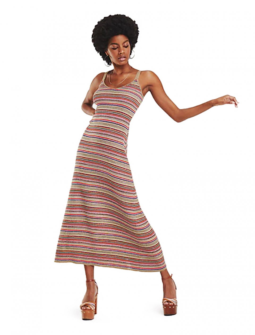 "Multicolour Stripe Dress {""id"":5,""product_section_id"":1,""name"":""Clothing"",""order"":5} Tommy Hilfiger x Zendaya"