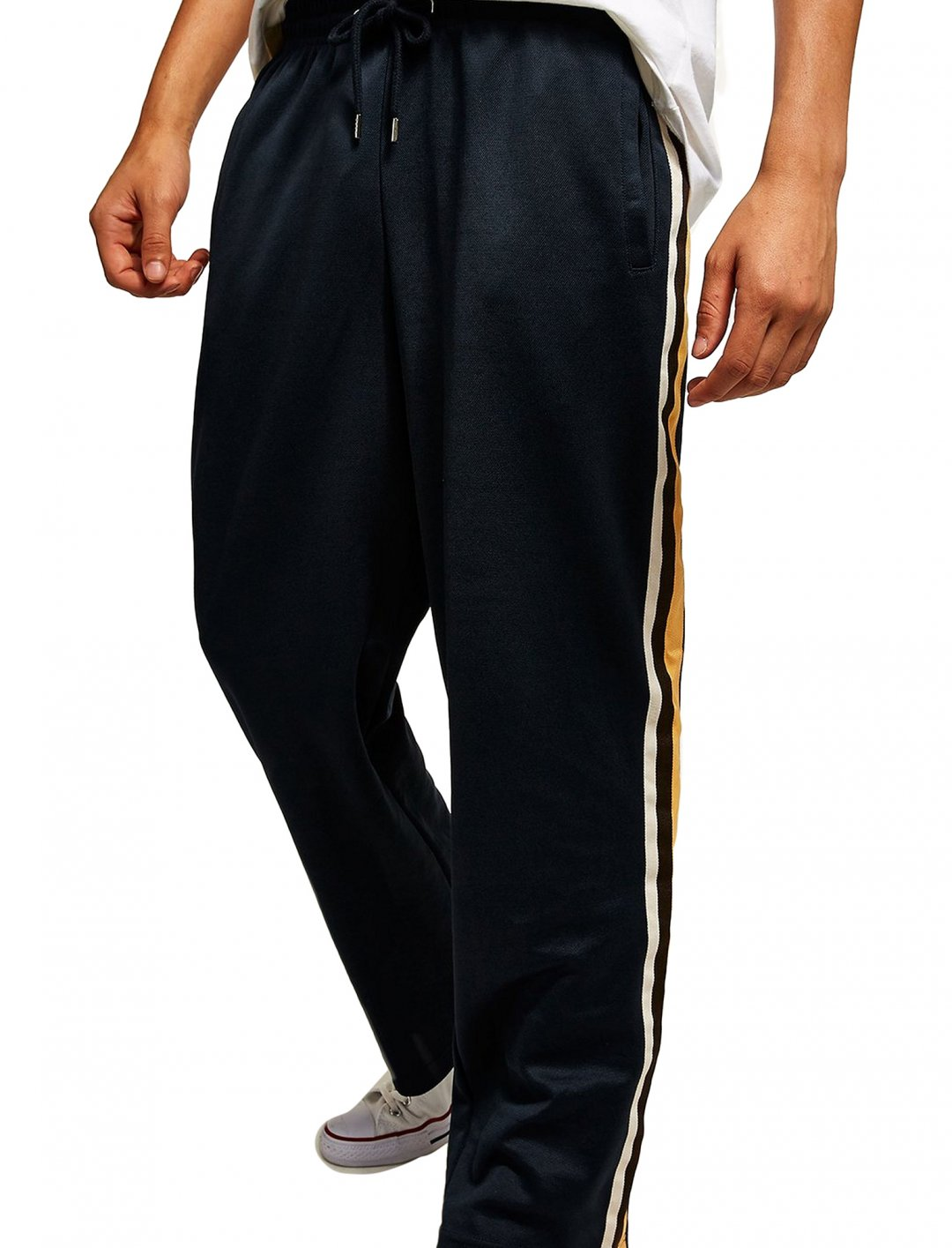 "Navy Joggers {""id"":5,""product_section_id"":1,""name"":""Clothing"",""order"":5} Topman"