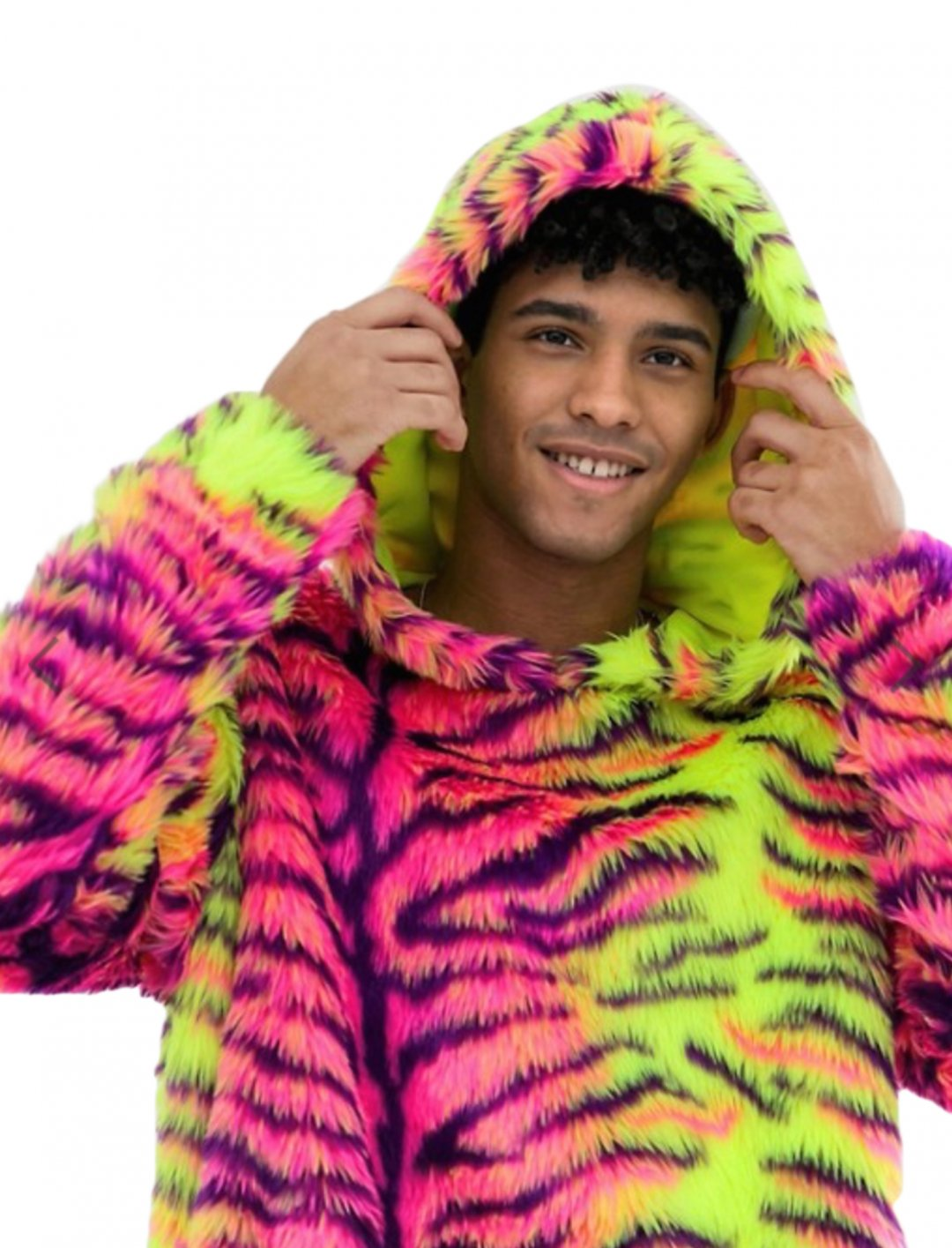 "Neon Tiger Hoodie {""id"":5,""product_section_id"":1,""name"":""Clothing"",""order"":5} Jaded London"
