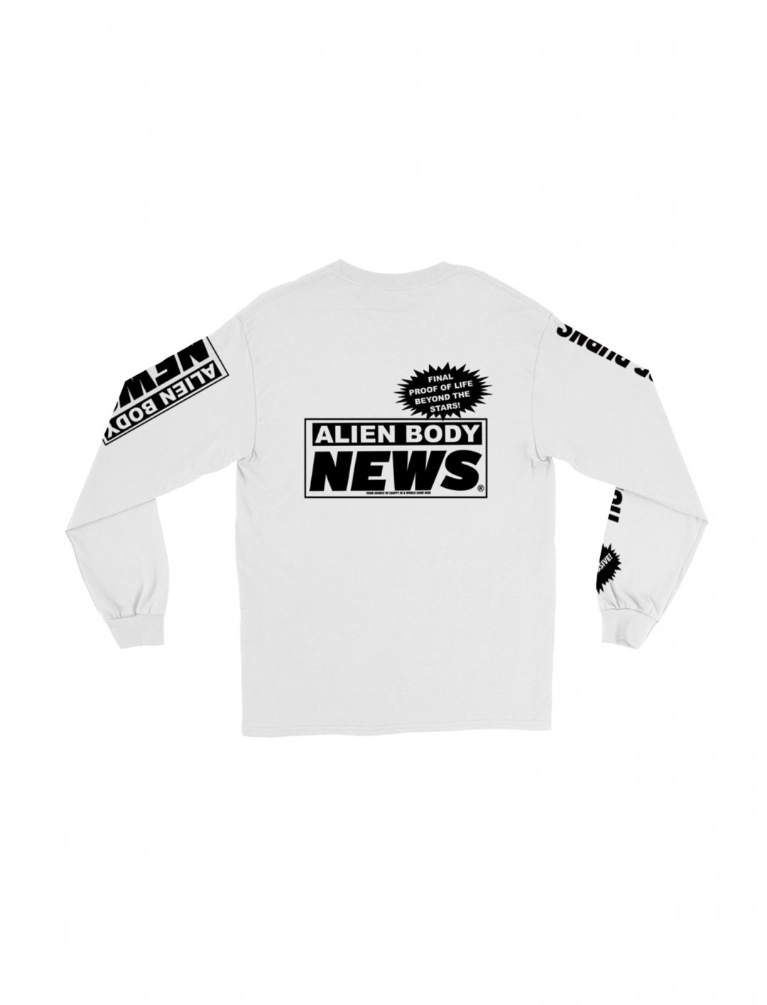 "News Long Sleeve T-Shirt {""id"":5,""product_section_id"":1,""name"":""Clothing"",""order"":5} The Hyv"