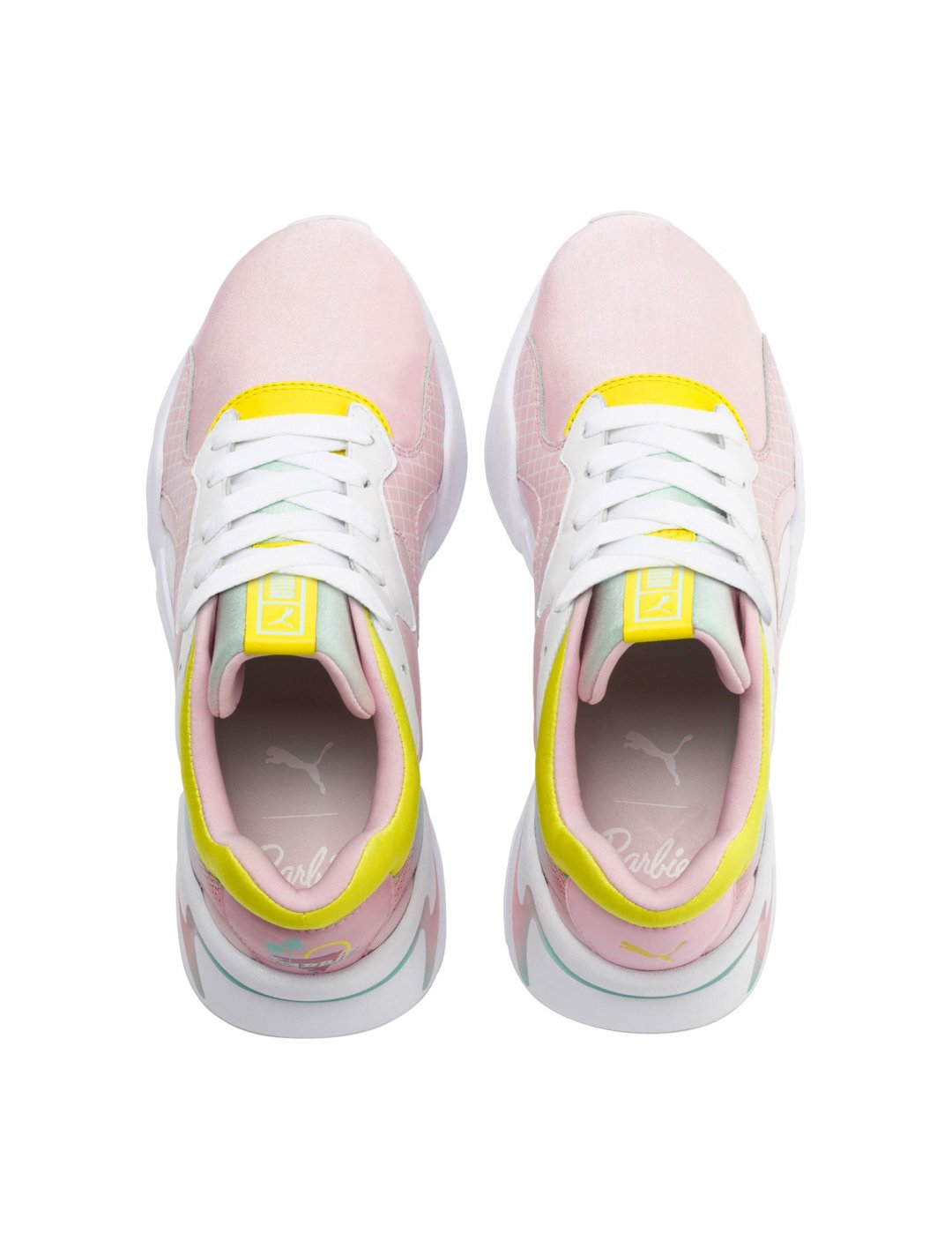"Nova Trainers {""id"":12,""product_section_id"":1,""name"":""Shoes"",""order"":12} PUMA X BARBIE"