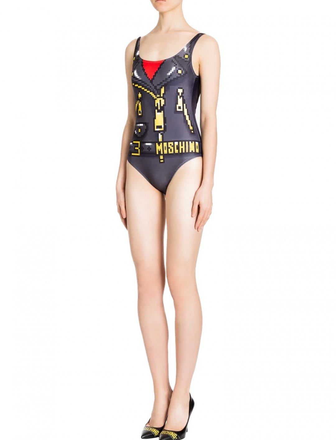 "One-Piece Swimsuit {""id"":5,""product_section_id"":1,""name"":""Clothing"",""order"":5} Moschino x The Sims"