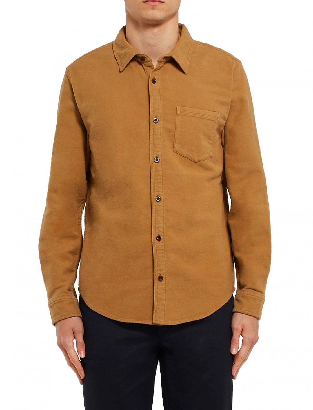 "Organic Cotton-Moleskin Shirt {""id"":5,""product_section_id"":1,""name"":""Clothing"",""order"":5} Outerknown"