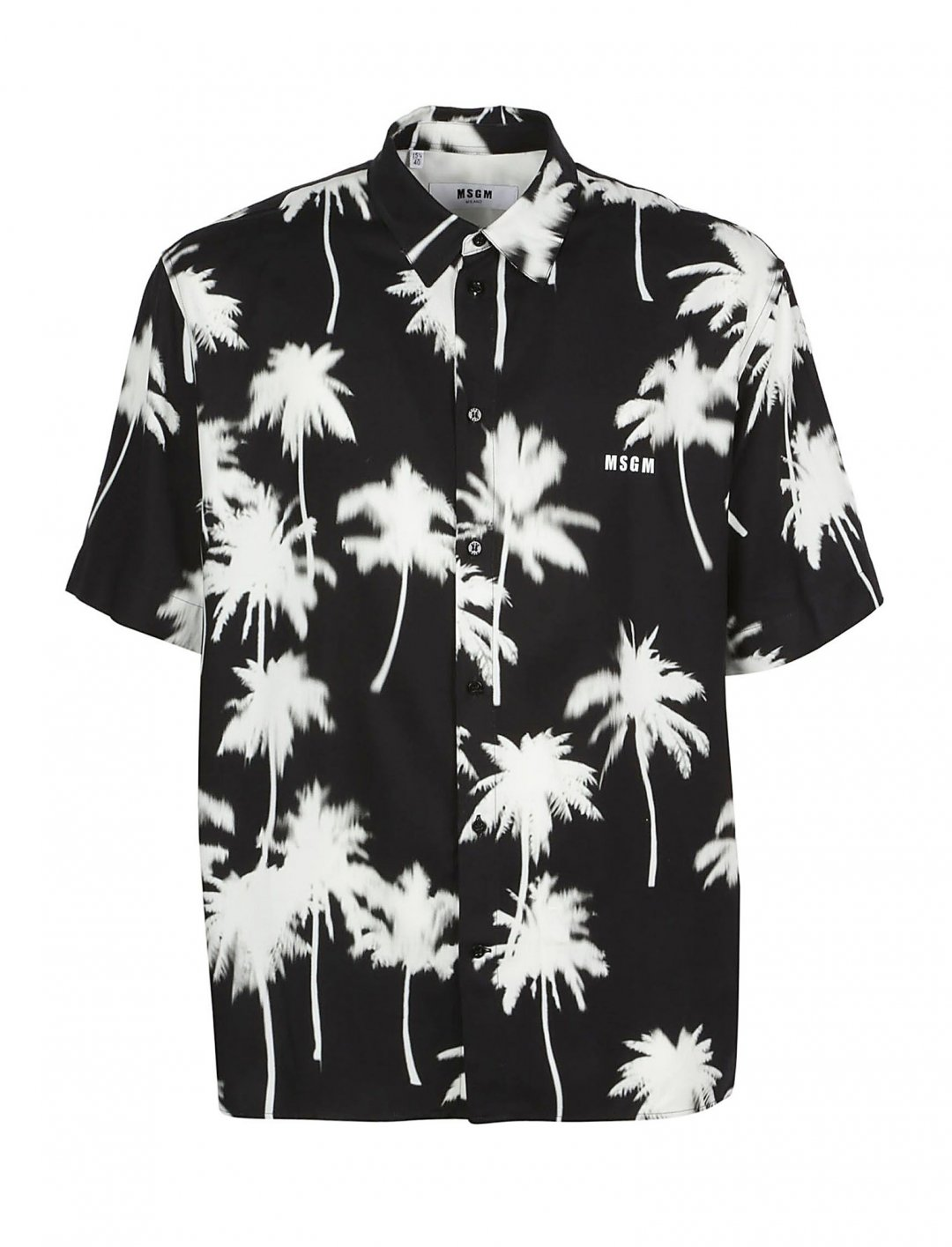 "Palm Tree Print Shirt {""id"":5,""product_section_id"":1,""name"":""Clothing"",""order"":5} MSGM"