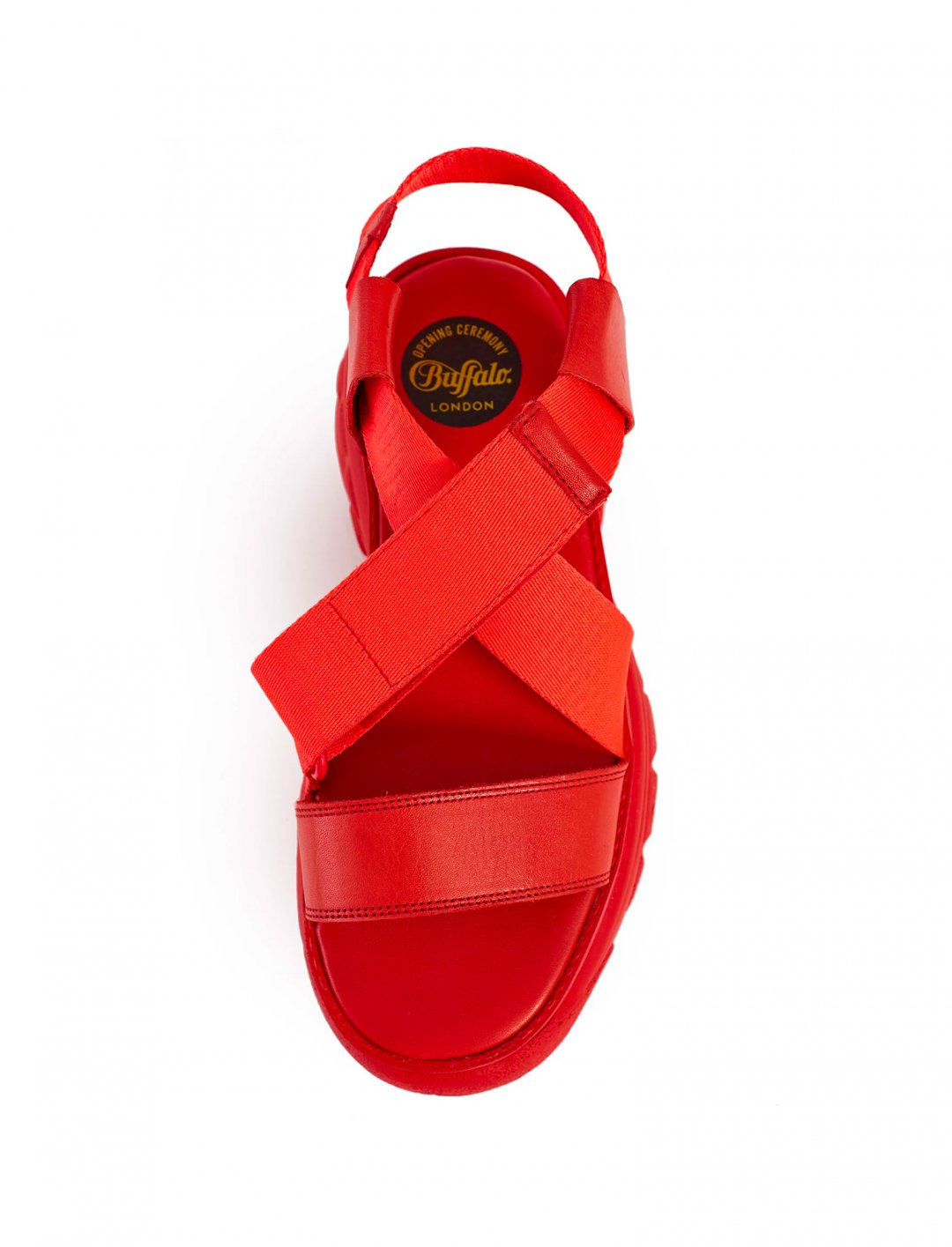 "Platform Sandals {""id"":12,""product_section_id"":1,""name"":""Shoes"",""order"":12} Buffalo London x Opening Ceremony"