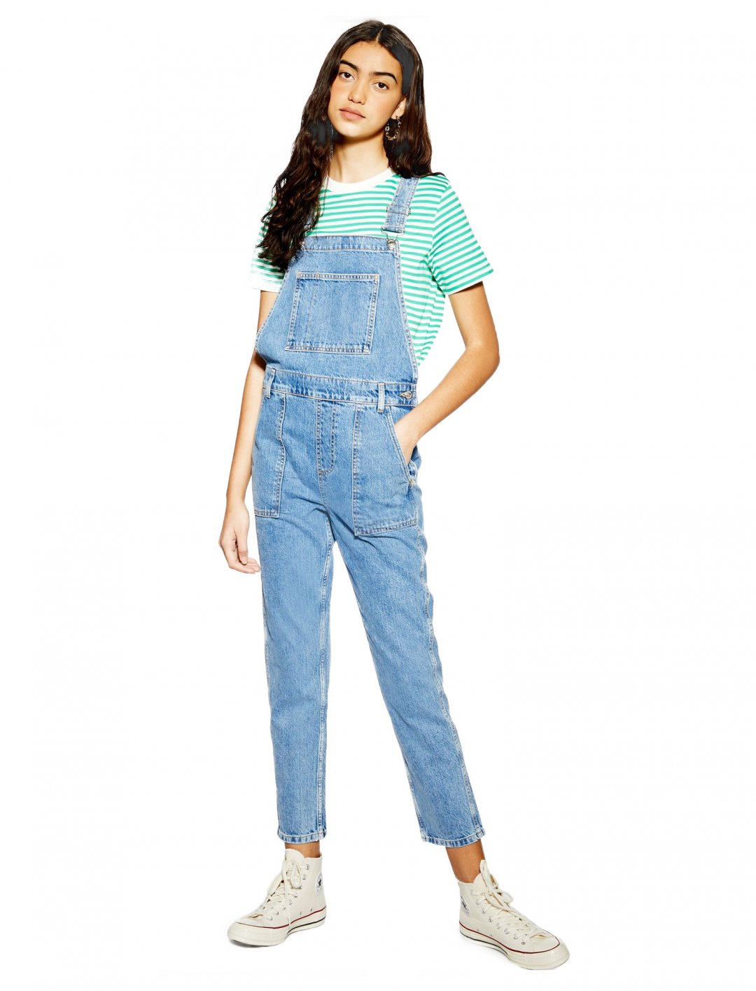 "Pocket Denim Dungarees {""id"":5,""product_section_id"":1,""name"":""Clothing"",""order"":5} Topshop"