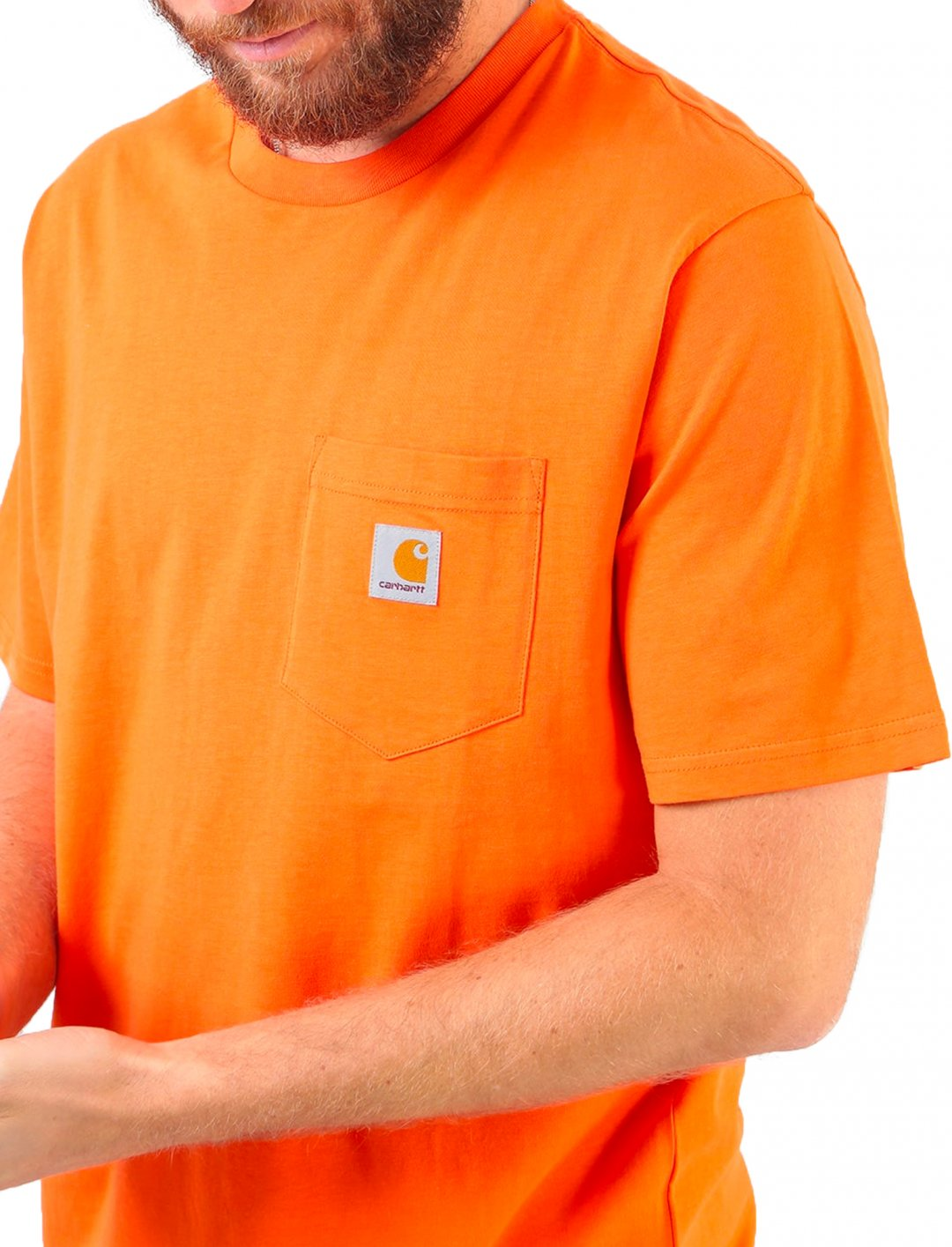 "Pocket T-shirt {""id"":5,""product_section_id"":1,""name"":""Clothing"",""order"":5} Carhartt"