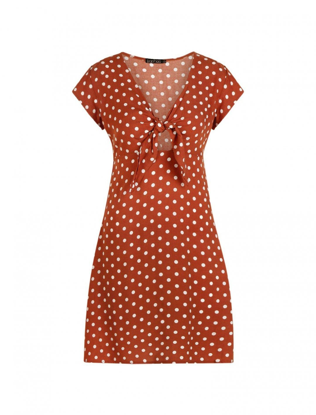 "Polka Dot Dress {""id"":5,""product_section_id"":1,""name"":""Clothing"",""order"":5} boohoo"