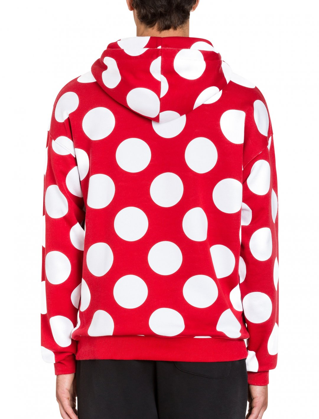 "Polka Dot Hoodie {""id"":5,""product_section_id"":1,""name"":""Clothing"",""order"":5} Moschino"