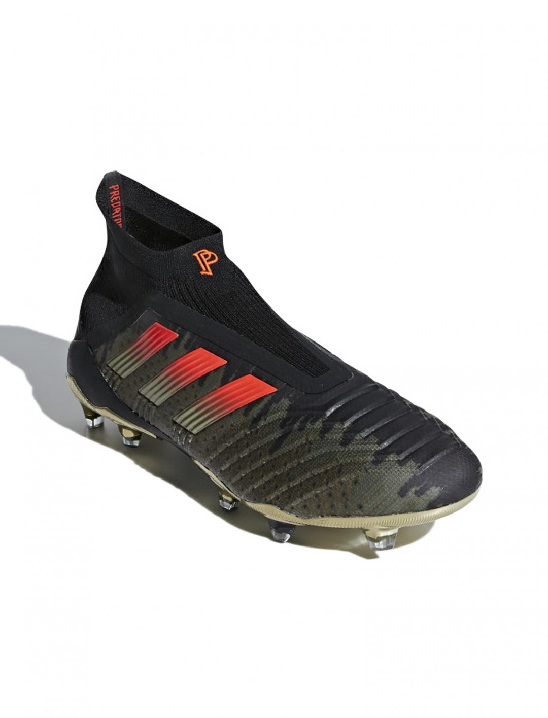 "Predator 18+ Firm Ground Cleats {""id"":12,""product_section_id"":1,""name"":""Shoes"",""order"":12} Adidas x Paul Pogba"