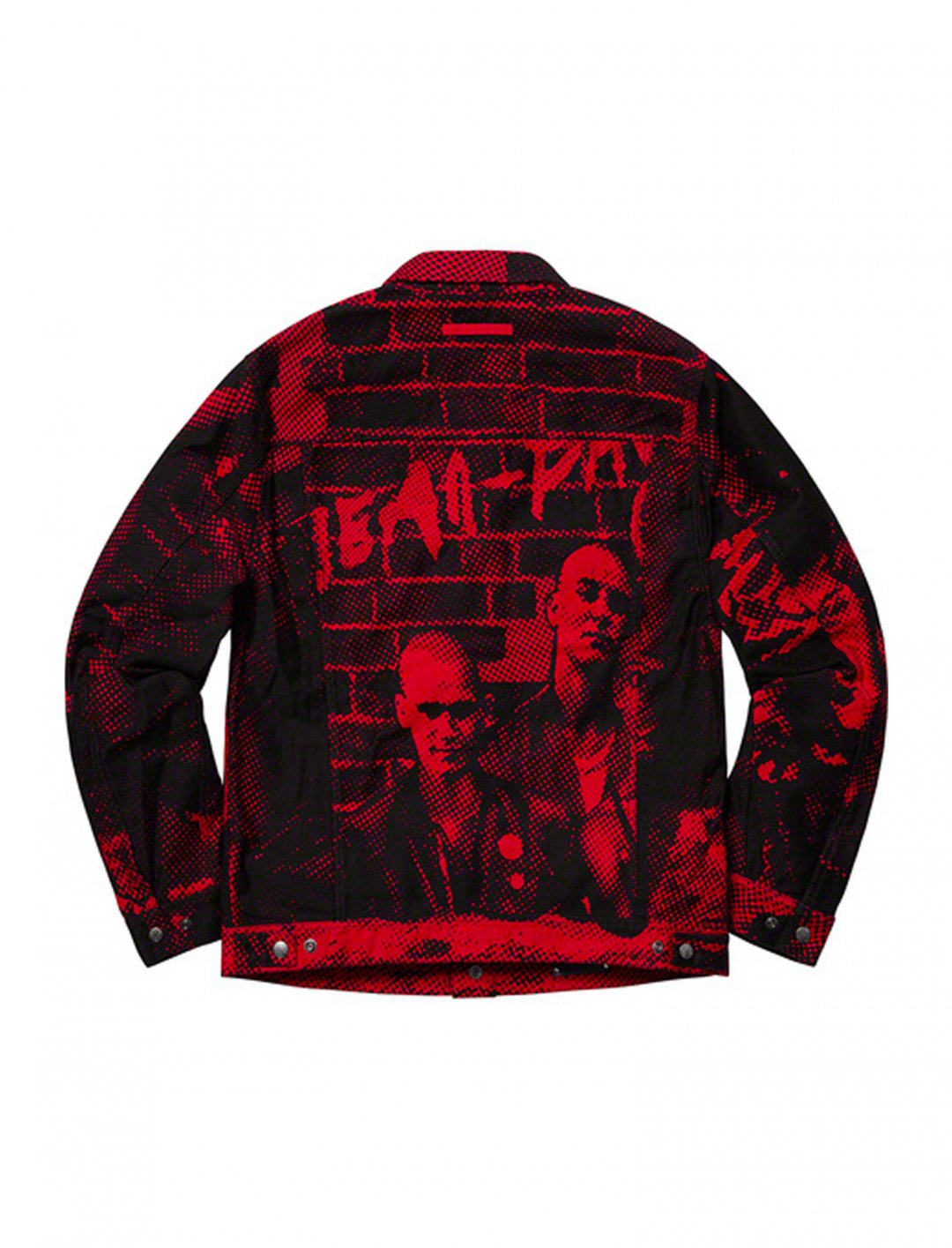 "Printed Jacket {""id"":5,""product_section_id"":1,""name"":""Clothing"",""order"":5} Jean Paul Gaultier x Supreme"