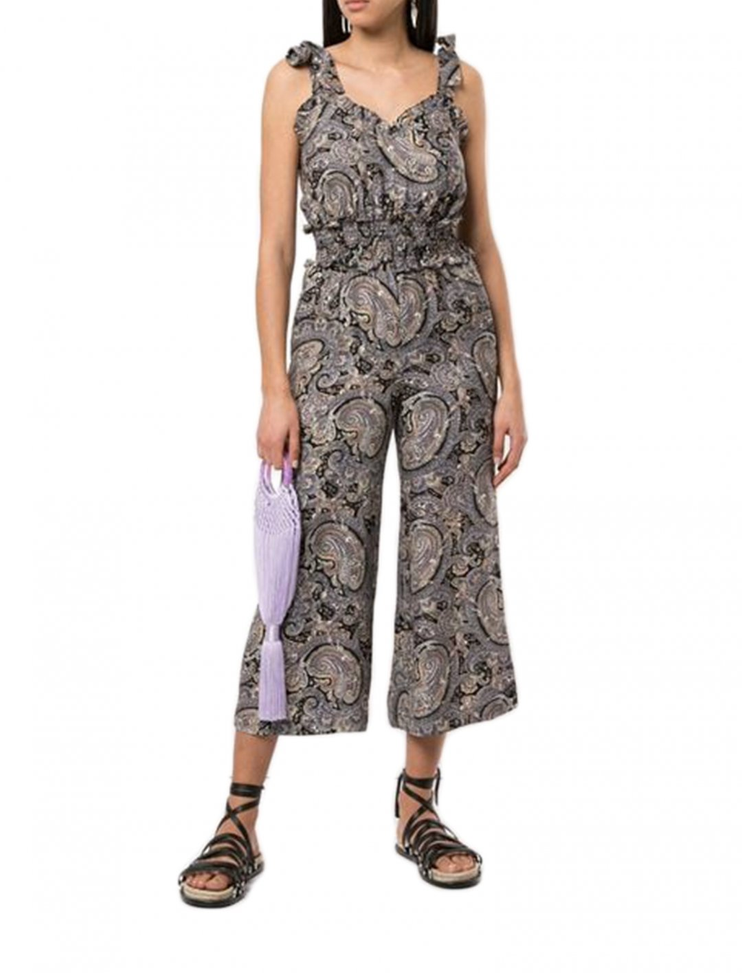 "Printed Jumpsuit {""id"":5,""product_section_id"":1,""name"":""Clothing"",""order"":5} Rebecca Taylor"