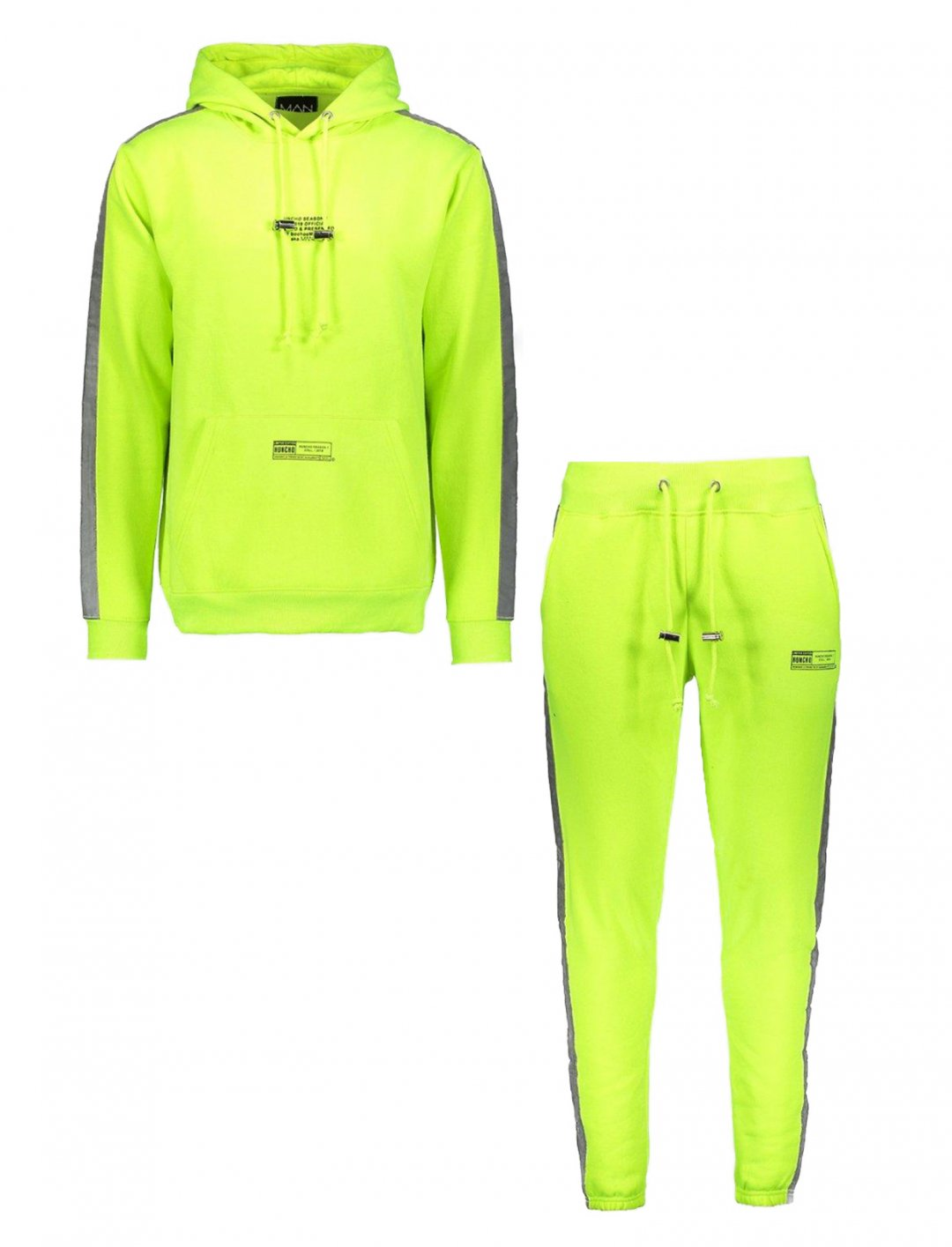 "Quavo Neon Tracksuit {""id"":5,""product_section_id"":1,""name"":""Clothing"",""order"":5} BoohooMAN x Quavo"