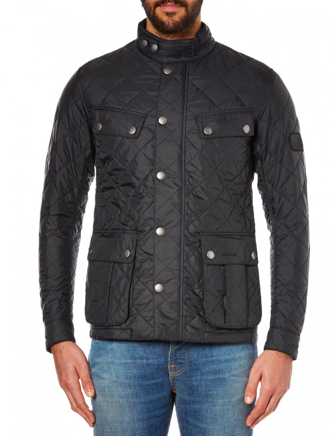 "Quilted Jacket {""id"":5,""product_section_id"":1,""name"":""Clothing"",""order"":5} Barbour International"