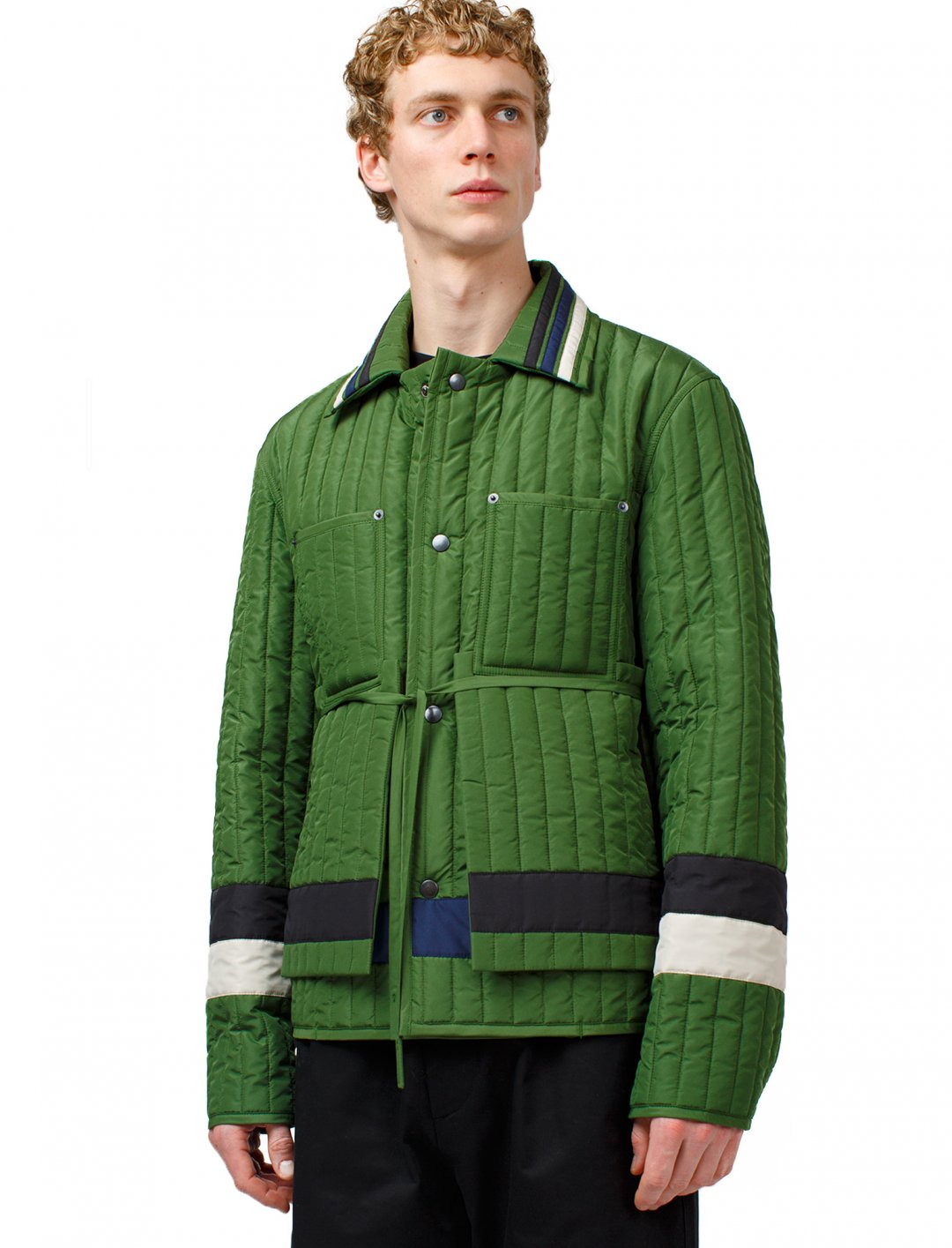"Quilted Worker Jacket {""id"":5,""product_section_id"":1,""name"":""Clothing"",""order"":5} Craig Green"