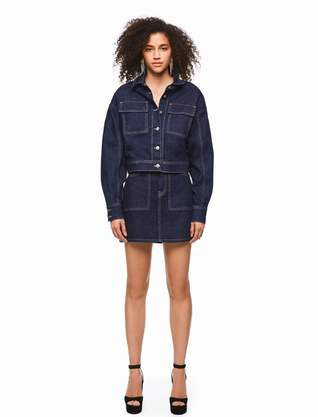 Raw Denim Jacket  Dua Lipa x Pepe Jeans