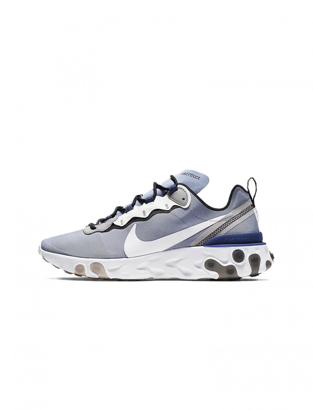 "React Element 55 Sneakers {""id"":12,""product_section_id"":1,""name"":""Shoes"",""order"":12} Nike"