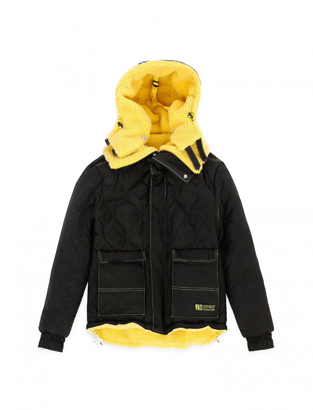 "Reversible Puffy Jacket {""id"":5,""product_section_id"":1,""name"":""Clothing"",""order"":5} Joyrich x VFiles"