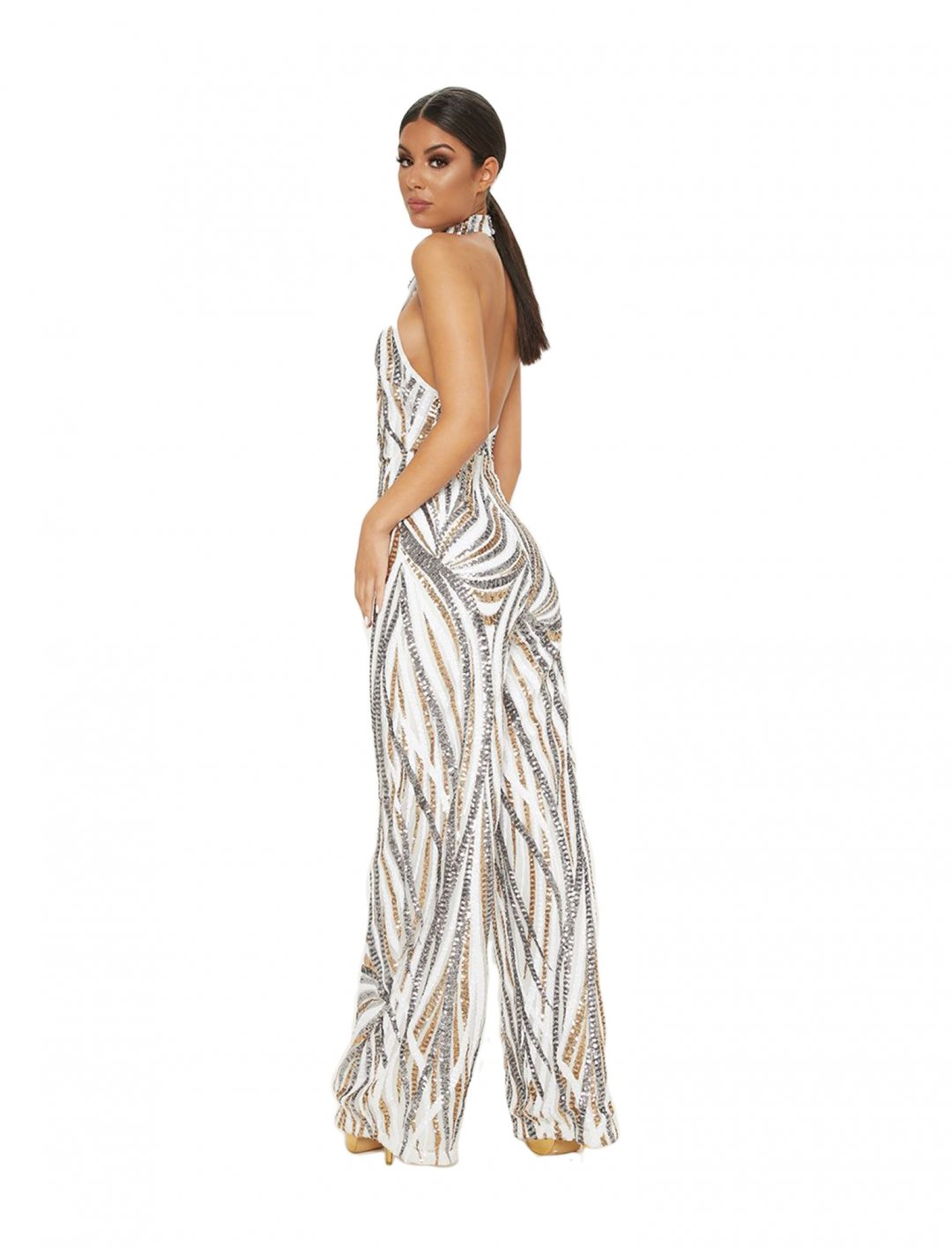 "Sequin Jumpsuit {""id"":5,""product_section_id"":1,""name"":""Clothing"",""order"":5} Pretty Little Thing"