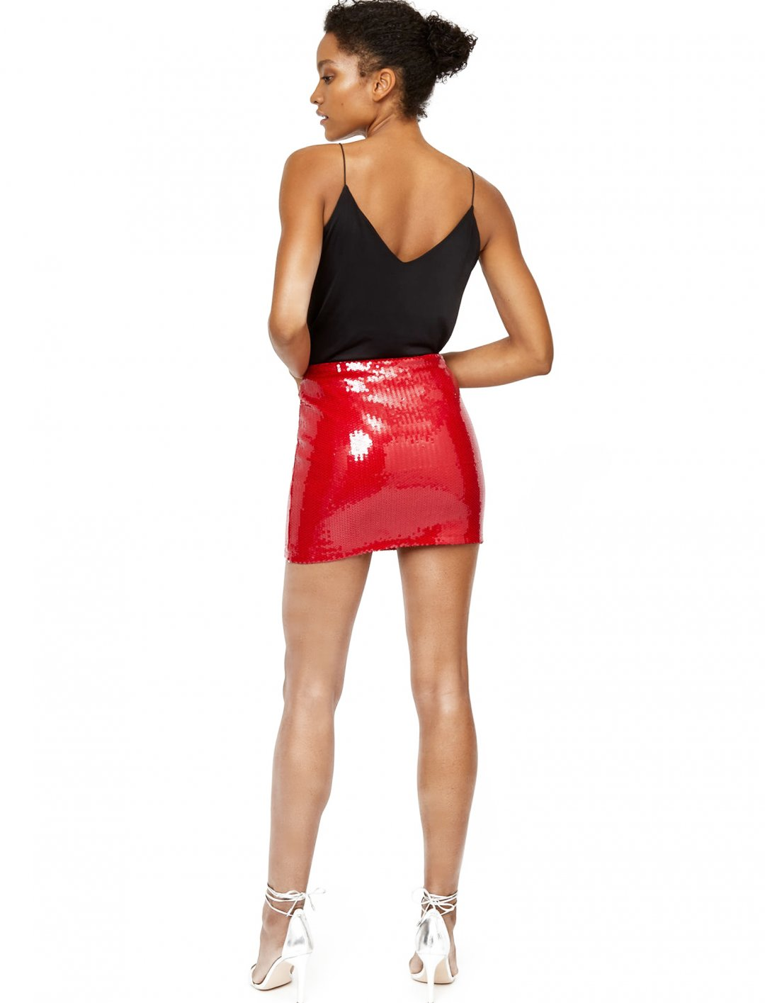 "Sequin Skirt {""id"":5,""product_section_id"":1,""name"":""Clothing"",""order"":5} Ashish"