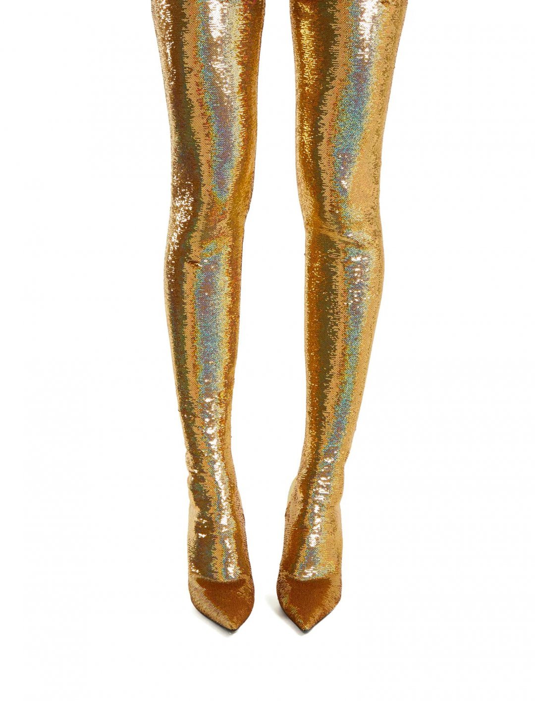 "Sequin Thigh High Boots {""id"":12,""product_section_id"":1,""name"":""Shoes"",""order"":12} Balenciaga"