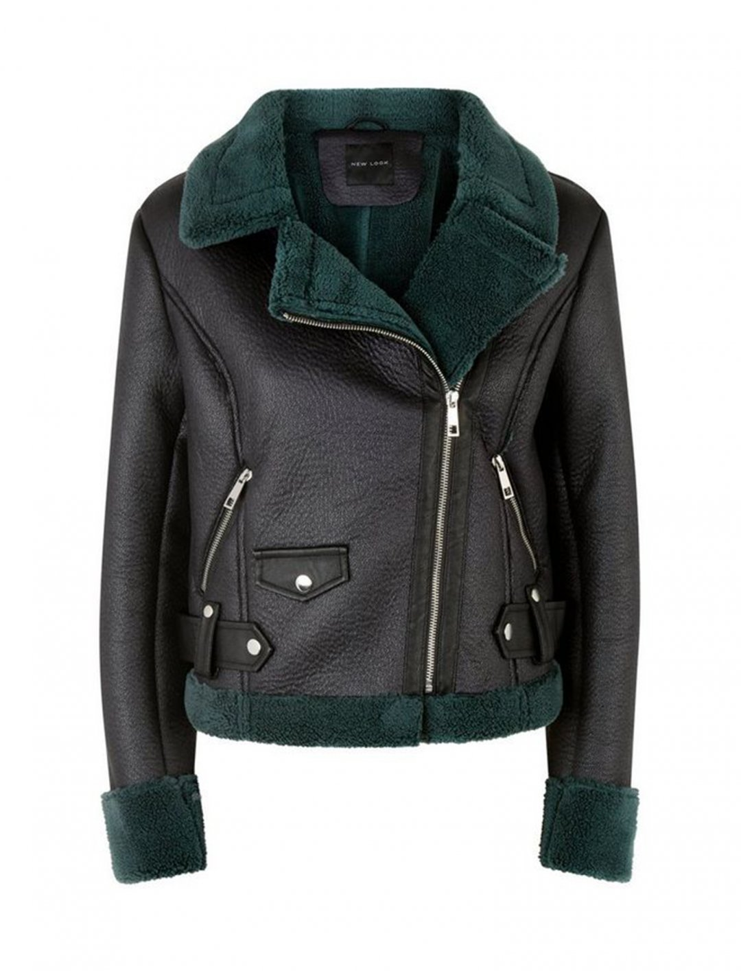 "Shearling Jacket {""id"":5,""product_section_id"":1,""name"":""Clothing"",""order"":5} New Look"