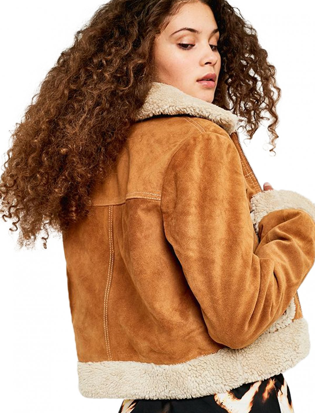 "Shearling Jacket {""id"":5,""product_section_id"":1,""name"":""Clothing"",""order"":5} Urban Outfitters"