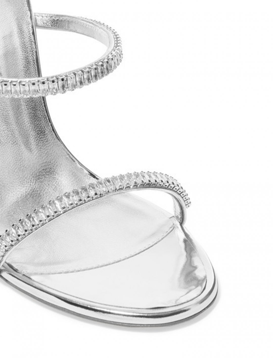 "Silver Sandals {""id"":5,""product_section_id"":1,""name"":""Clothing"",""order"":5} Giuseppe Zanotti"